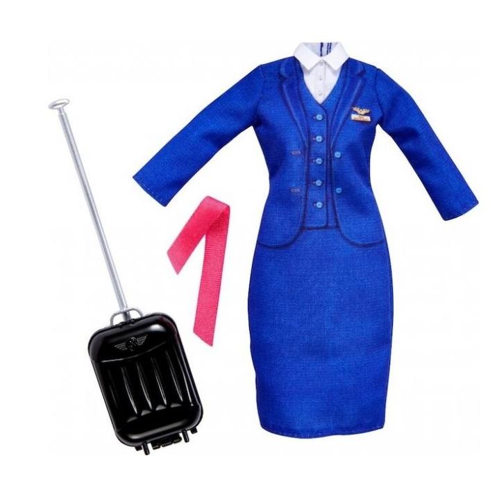 Одежда Костюм Стюардессы Barbie (Mattel) купить в интернет-магазине Ласточка