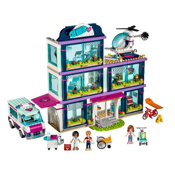 Lego Friends 41318 клиника Хартлейк - Сити