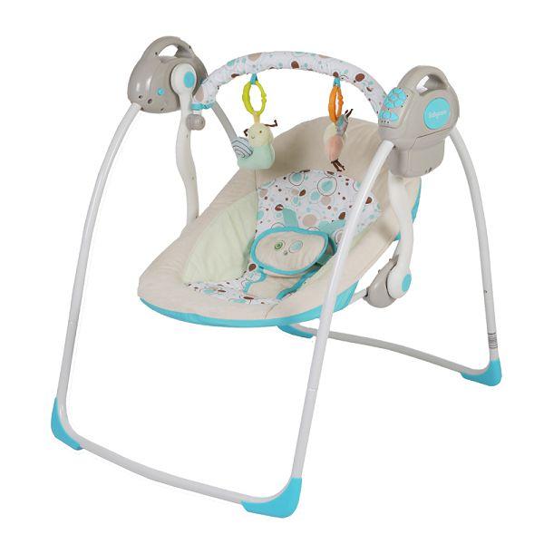 Музыкальные качели для новорожденных