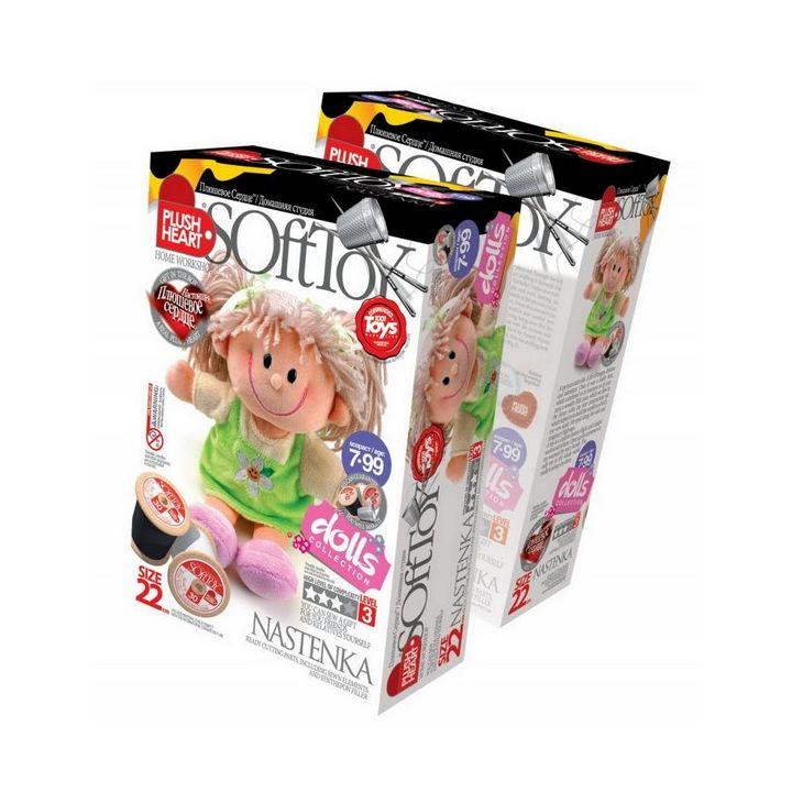 Мягкие игрушки своими руками набор купить в