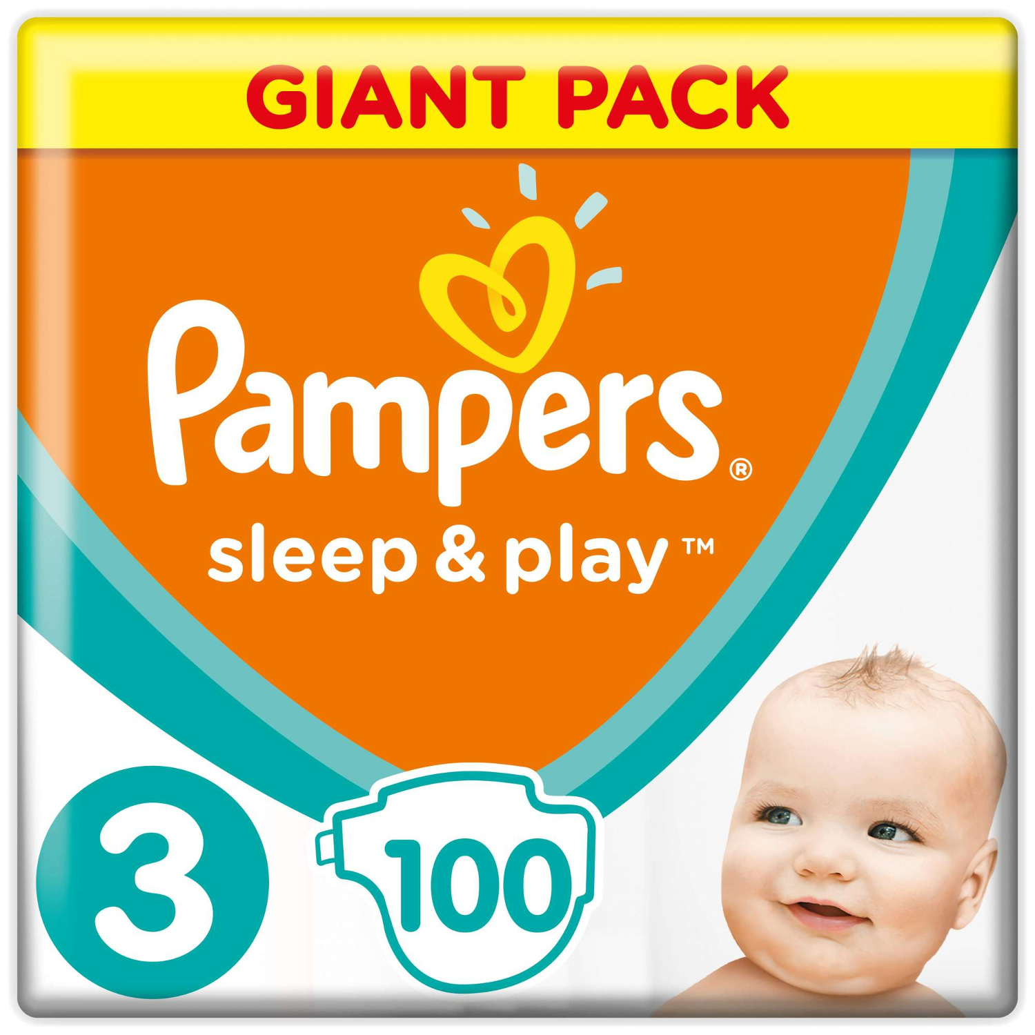 Подгузники Pampers Sleep & Play 3 (6-10 кг) - 100 шт