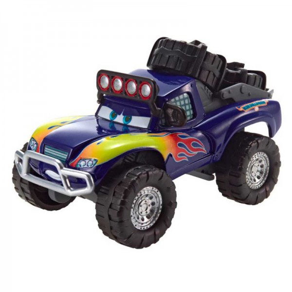 Mattel Cars Blue Grit